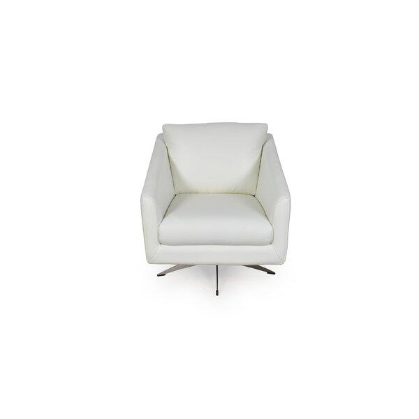 Hieu Swivel Club Chair by Orren Ellis Orren Ellis