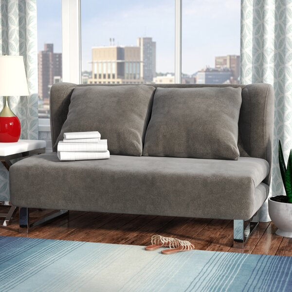 Trendy Modern Sarah Sleeper Sofa by Wade Logan by Wade Logan