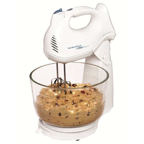 Power Deluxe 4 Qt. Stand Mixer by Hamilton Beach
