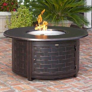 Perissa Aluminum Propane Fire Pit Table
