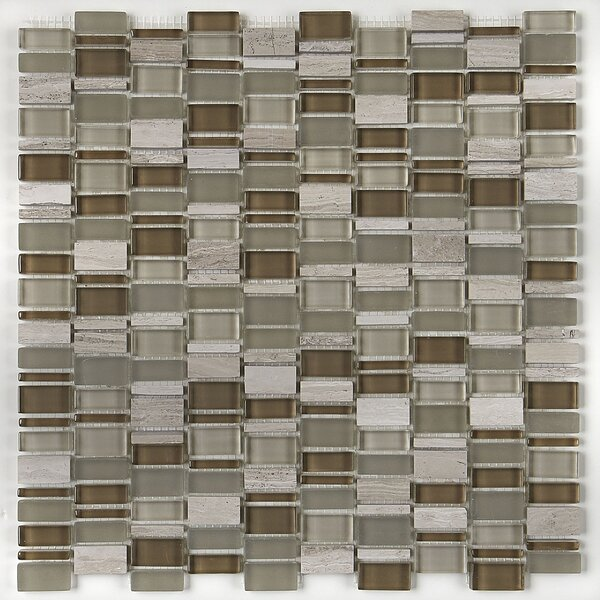 Clio 1 x Random Sized Glass Mosaic Tile in Hera by Daltile