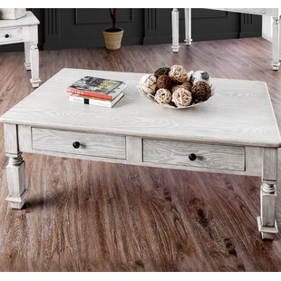 Haynie Coffee Table with Storage August Grove