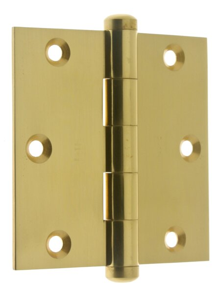 3.06 H x 3.5 W Full Mortise Pair Door Hinge (Set of 2) by idh by St. Simons