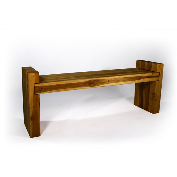 Pedrick Two Seat Bench by Union Rustic