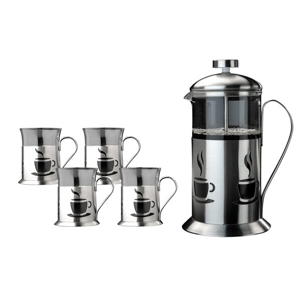 Studio French Press 5 Piece Coffee Set by BergHOFF International