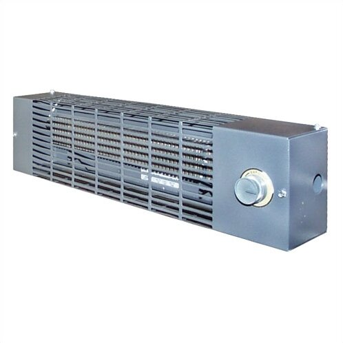 1,706 BTU Wall Mounted Electric Convection Baseboard Heater with Thermostat by TPI