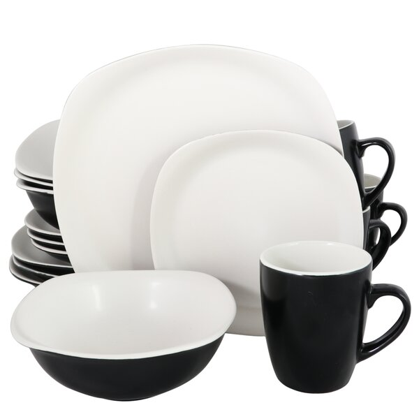 Wilton 16 Piece Dinnerware Set, Service for 4 by Winston Porter