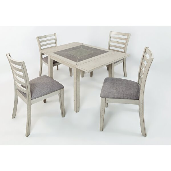 Leigh 5 Piece Dining Set by Red Barrel Studio