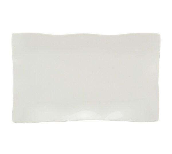 Wave 14 Rectangular Platter (Set of 2) by Red Vanilla