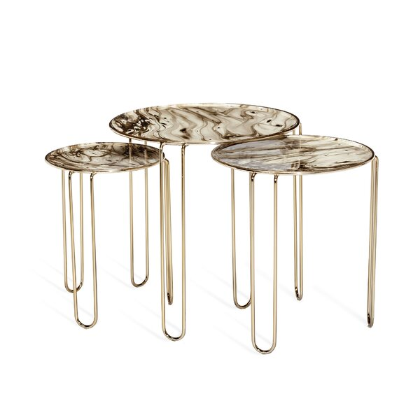 Cosette 3 Legs Nesting Tables By Interlude