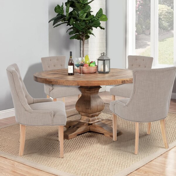 Amazing Corrigan Upholstered Dining Chair (Set Of 2) By Gracie Oaks Reviews