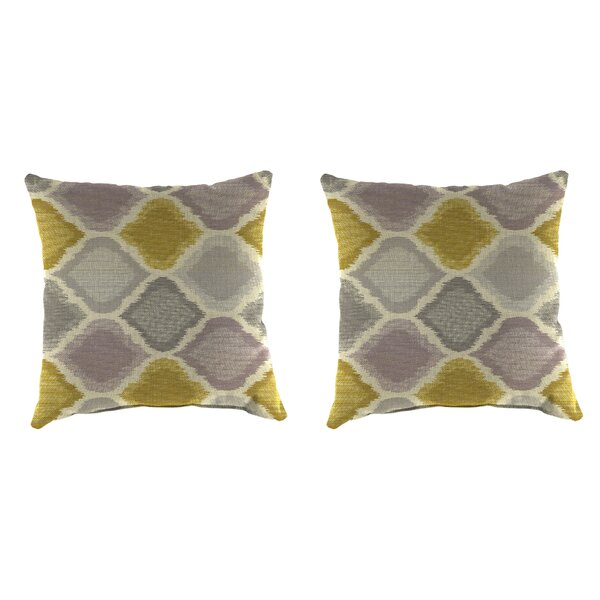 Buchlovice Outdoor Throw Pillow (Set of 2) by Latitude Run