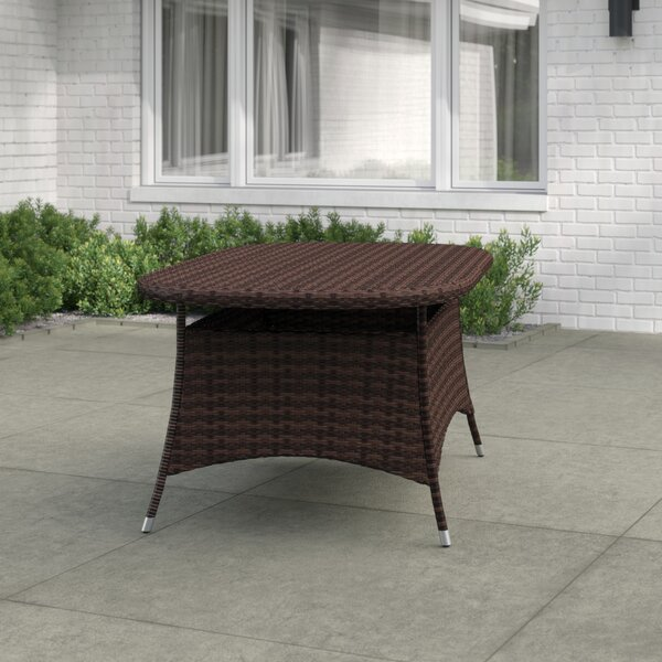 Bleich Wicker Table by Wade Logan