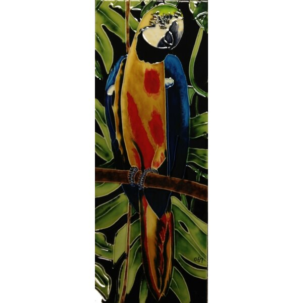 Parrot Tile Wall Decor by Continental Art Center
