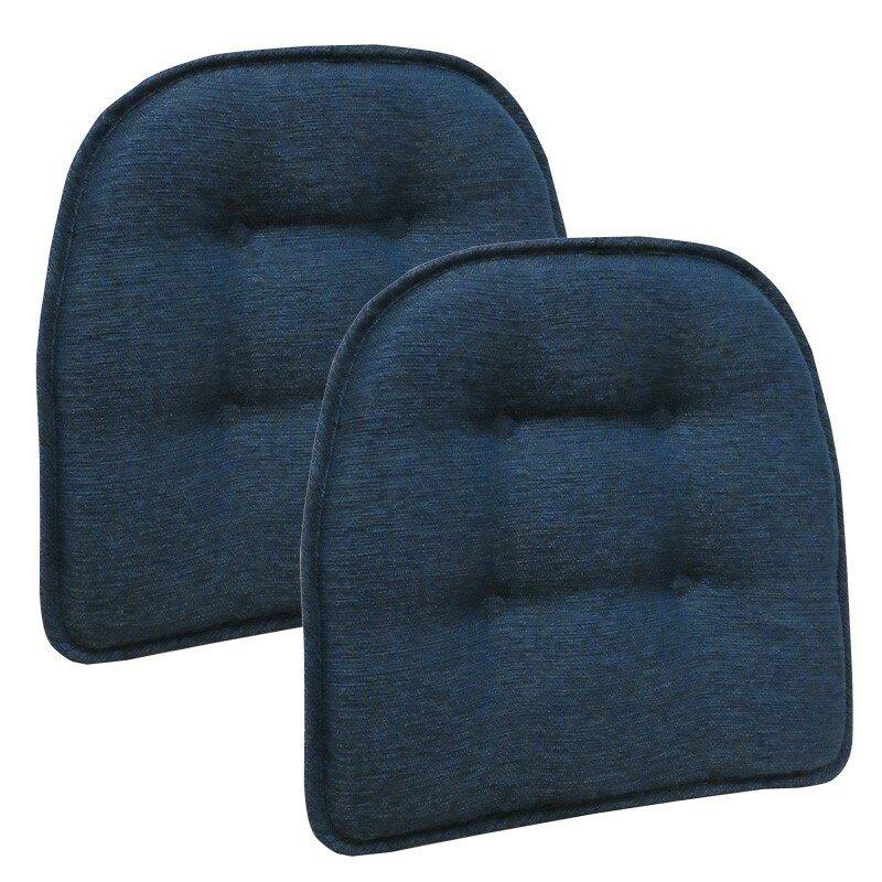 Wayfair Basics Tufted Gripper Chair Cushion (Set Of 2)