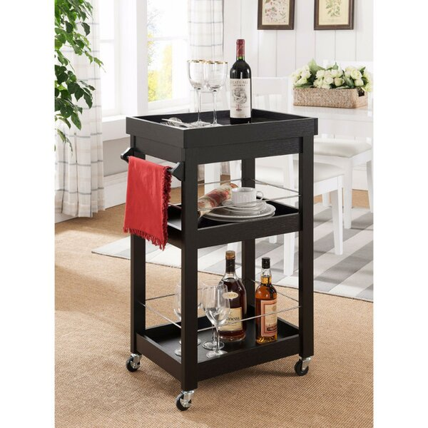 Barwell Bar Cart by Darby Home Co Darby Home Co