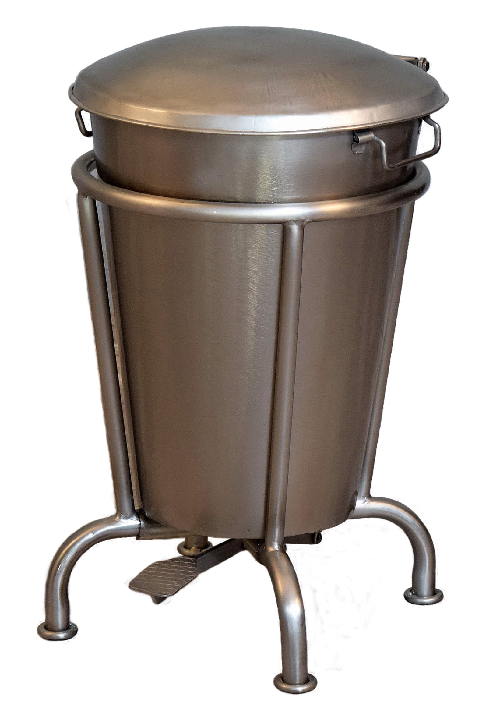 William Sheppee Saloon 13 Gallon Step On Trash Can &