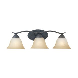 Reviews Corwin 3-Light Vanity Light By Andover Mills