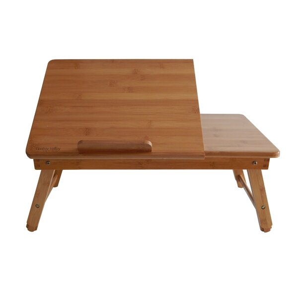 Home Bamboo Adjustable Laptop Tray by Timber Valley