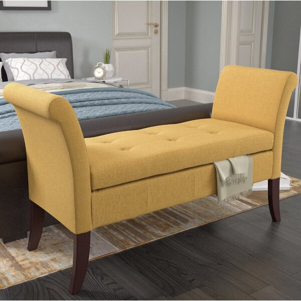 Dumbarton Upholstered Storage Bench by Darby Home Co