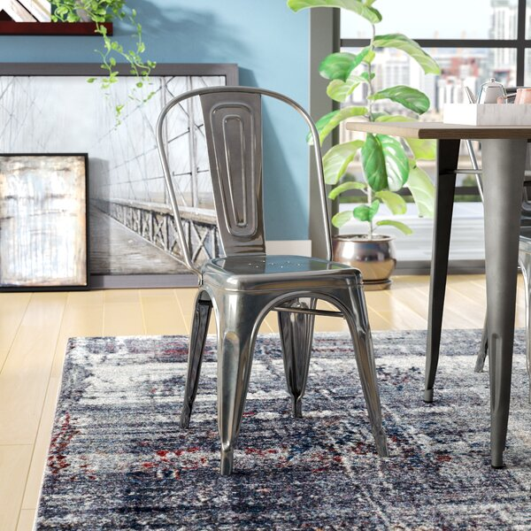 Ashlyn Metal Side Chair by Williston Forge
