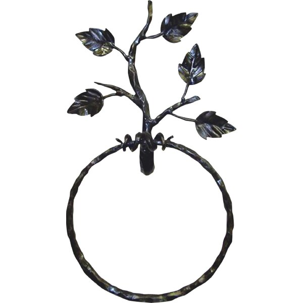 Aspen Wall Mounted Towel Ring by Quiescence