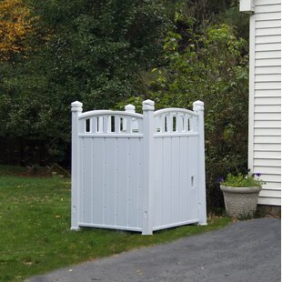 Outdoor Storage 3 Ft. 4.5 In. W X 3 Ft. 7.5 In. D Plastic Garbage Shed
