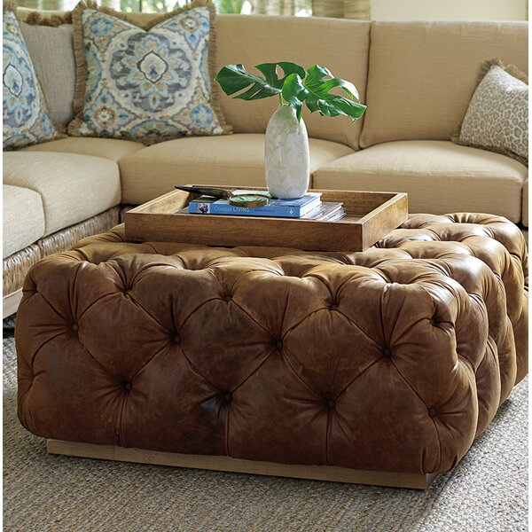 Los Altos Cocktail Ottoman by Tommy Bahama Home