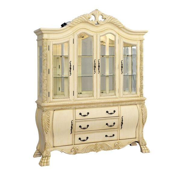 Dolores Lighted China Cabinet by Hokku Designs