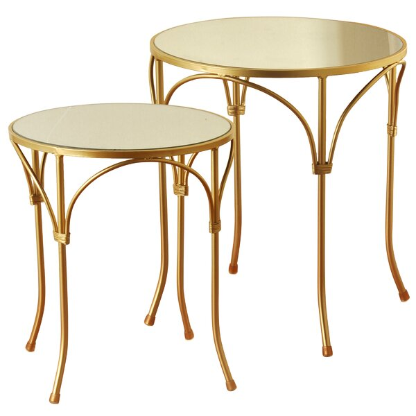 Aptos 2 Piece End Table Set by Mercer41