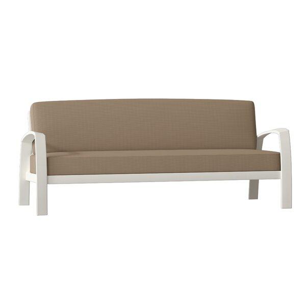 South Beach Patio Sofa with Cushions by Tropitone