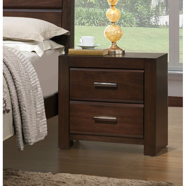 Stringham 2 Drawer Nightstand by Red Barrel Studio