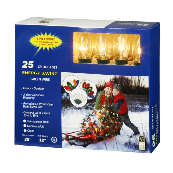 25 Light C9 String Set by Vickerman