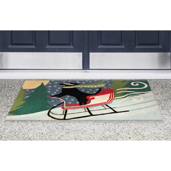 Hand-Tufted Indoor/Outdoor Area Rug by The Holiday Aisle