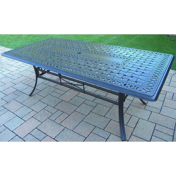 Bosch Metal Dining Table by Darby Home Co Darby Home Co