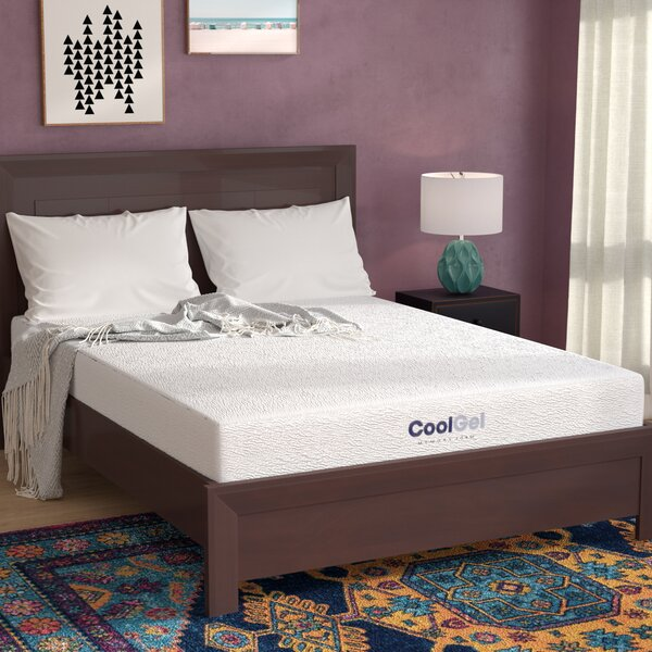 8 Medium Firm Gel Memory Foam Mattress by Alwyn Home