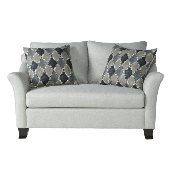 Abstract Loveseat By Charlton Home