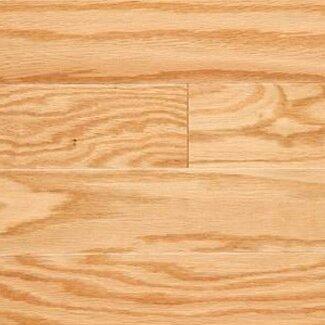 Gevaldo 3 Engineered Red Oak Hardwood Flooring in Natural by LM Flooring