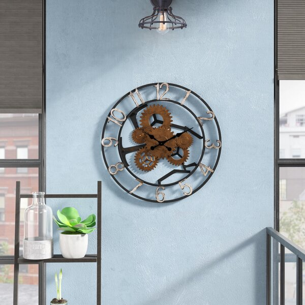 Gears Wall Clock by Trent Austin Design