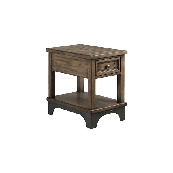 Oday End Table with Storage by Williston Forge