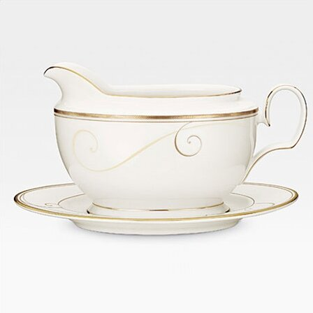 Golden Wave Gravy Boat by Noritake