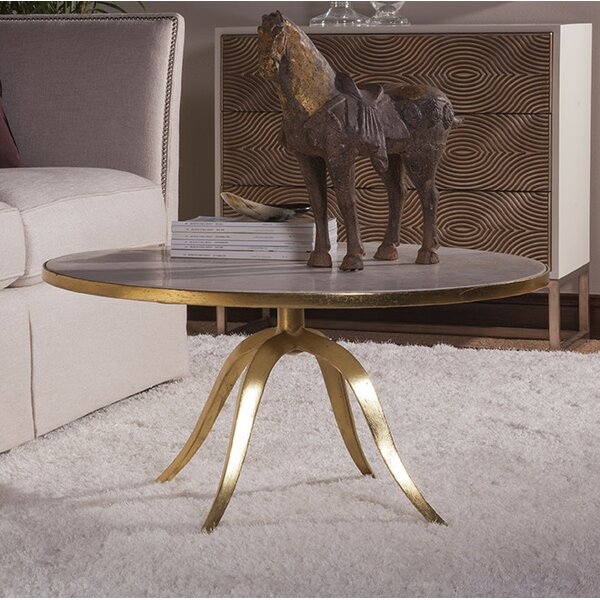 Pedestal Coffee Table by Artistica Home Artistica Home