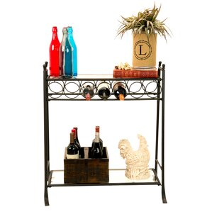 7 Bottle Floor Wine Rack by Homestyle Collection