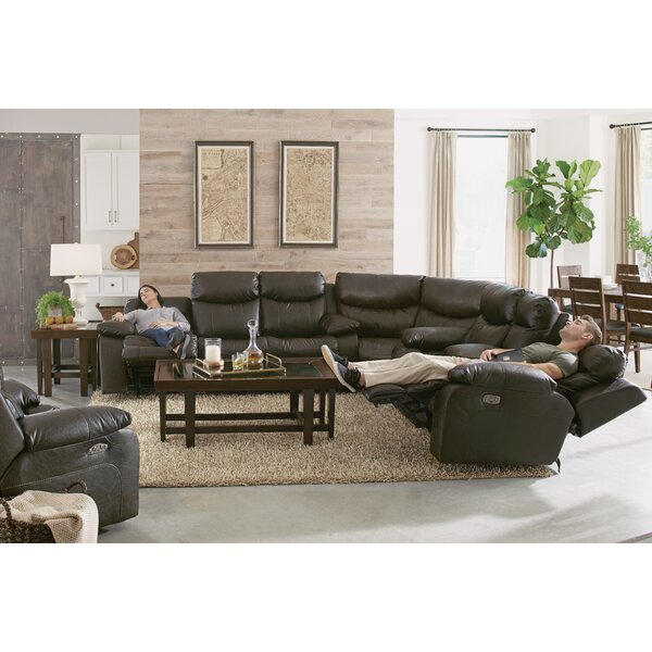 Connor Reclining Sectional by Catnapper