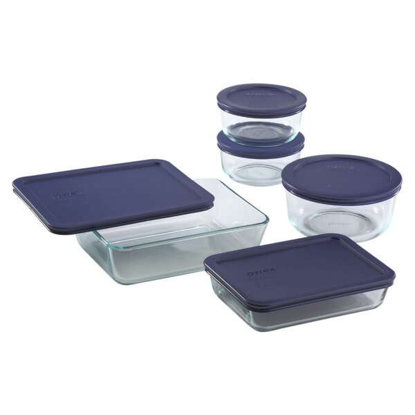 Simply Store 5 Container Food Storage Set by Pyrex
