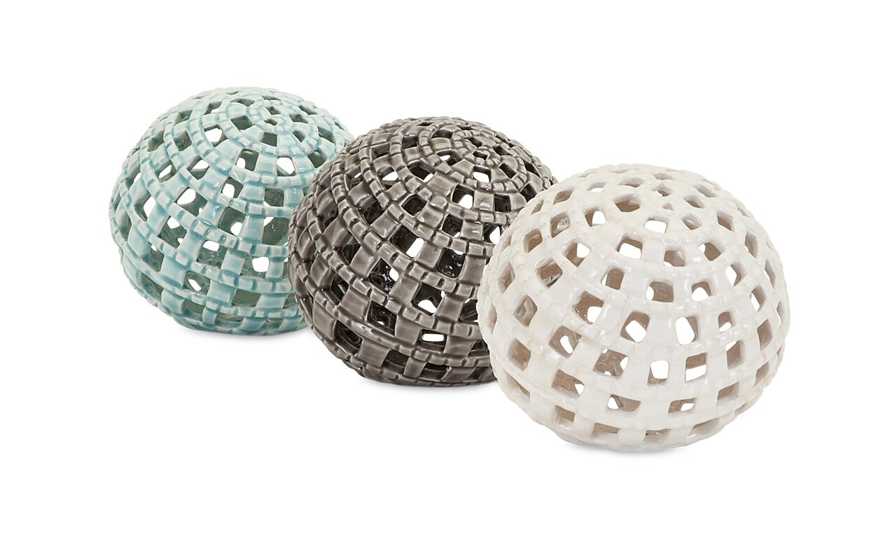 Trisha Yearwood Home Collection Outer Banks 3 Piece Sphere