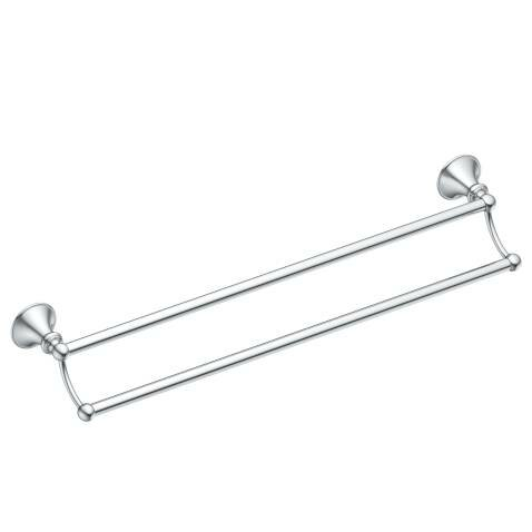 Glenshire Double 24 Wall Mounted Towel Bar by Moen