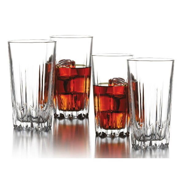 Florence 14.75 oz. Highball Glass (Set of 4) by Style Setter