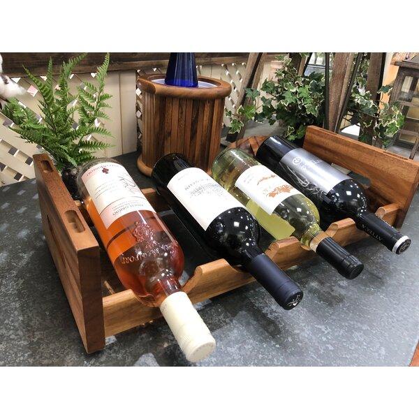 Woodmore 4 Bottle Tabletop Wine Bottle Rack by Gracie Oaks Gracie Oaks