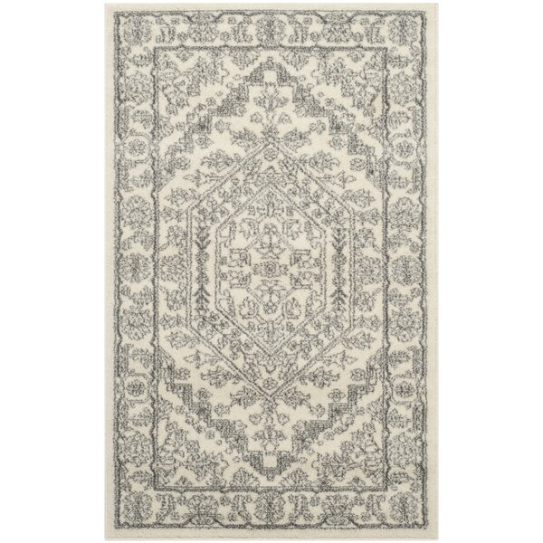 Sirena Ivory Silver Area Rug